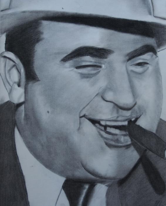 Al Capone by aaron7599